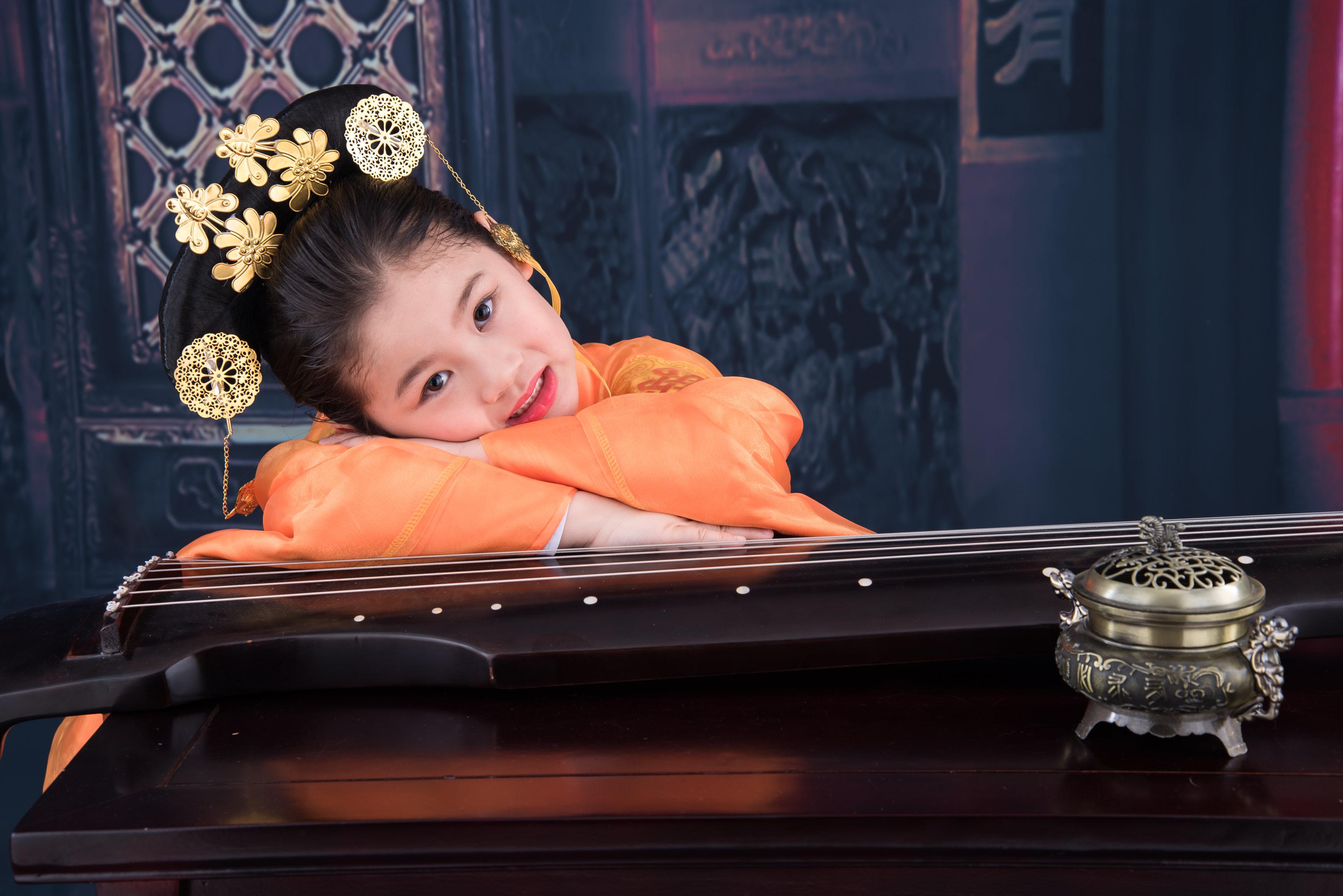 谷米2020年2月27日练习古筝《秋夜思》